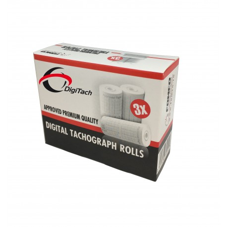 Tachograf papir - Tachograf Ruller 3 stk.