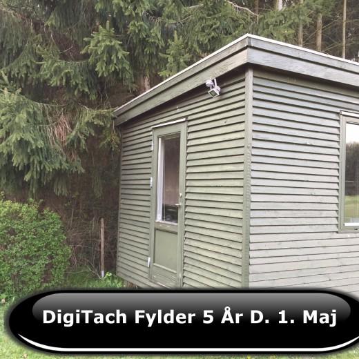 DigiTach fylder 5 år 1. Maj