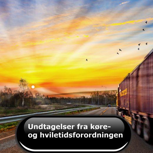 Undtagelser fra køre- og hviletidsforordningen