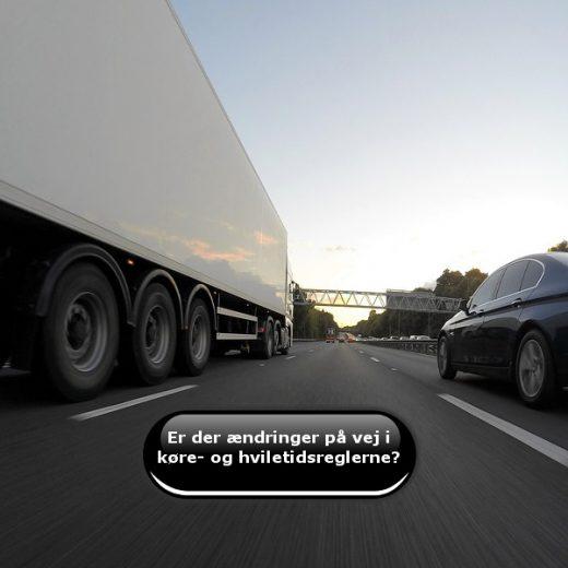 Er der ændringer på vej i køre- og hviletidsreglerne?