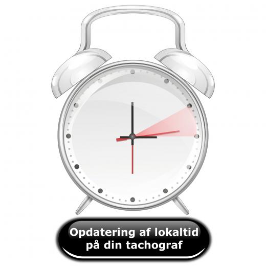 Opdatering af lokaltid på din tachograf