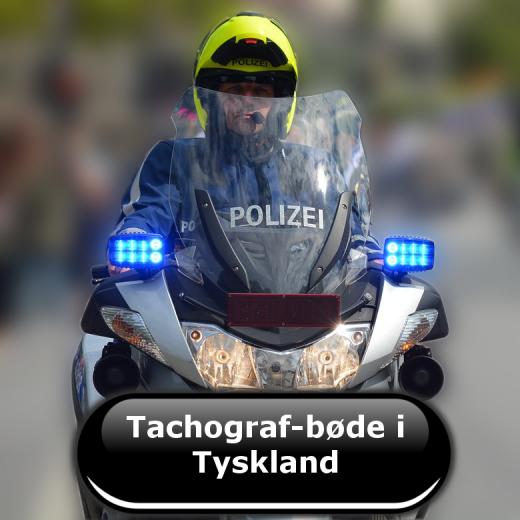 Tachograf-bøde i Tyskland