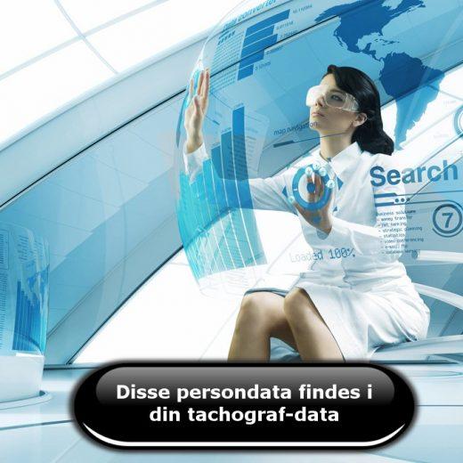 Disse persondata findes i din tachograf-data