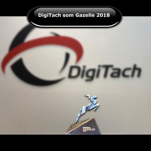 DigiTach er udnævnt til Børsen Gazelle 2018